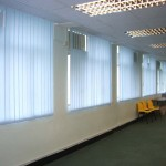 Vertical blinds (Salvation Army)