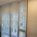 Wooden blinds (Reception)