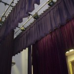 Stage curtains (Logos)
