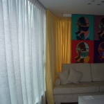 窗紗+ 窗簾 (酒店房間)