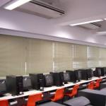 Venetian blinds (Computer room)