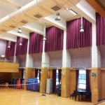 Hall side curtains (Logos Primary)