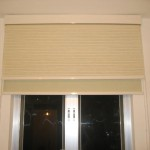 Two layers Roller blinds (Living Room, Fu Ka Garden)