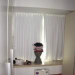 窗簾 (睡房, 山頂)