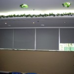 Roller blinds with blackout (Empier Centre)