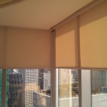 Motorized Roller blinds (Centrium)