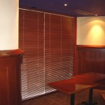 Wooden blinds (Steakhouse)