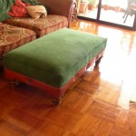 re-holstery ottoman